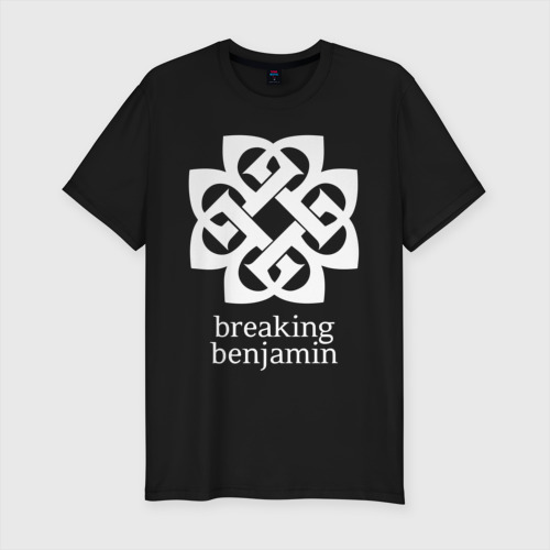 Мужская футболка хлопок Slim Breaking Benjamin