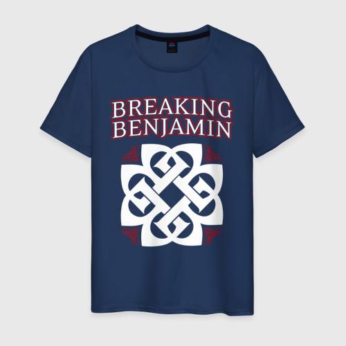 Мужская футболка хлопок Breaking Benjamin