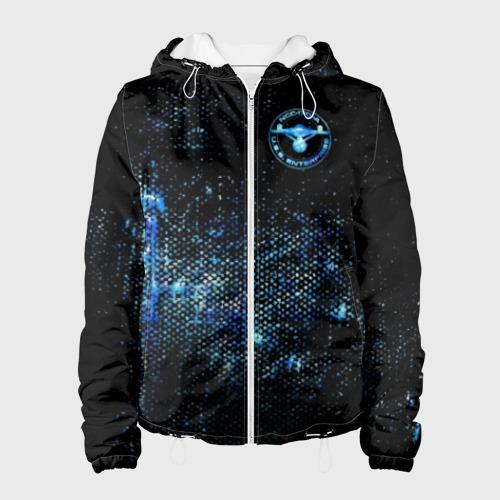 Женская куртка 3D Star Trek