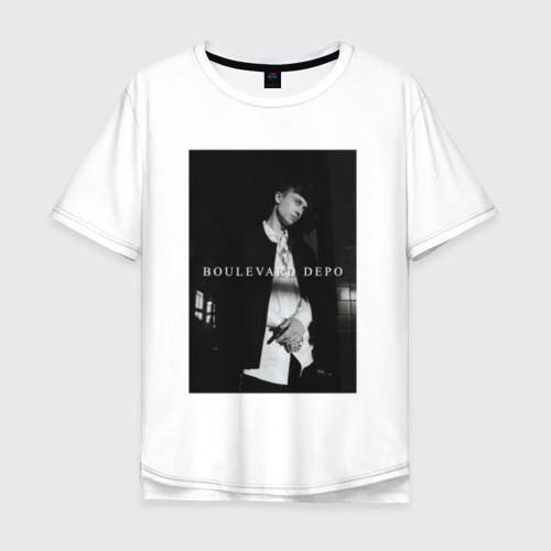 Мужская футболка хлопок Oversize Boulevard Depo