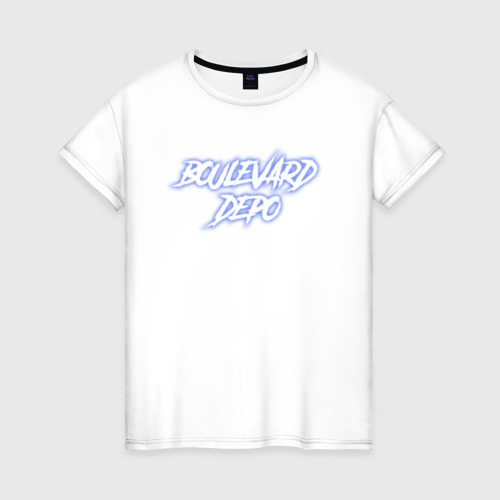 Женская футболка хлопок Boulevard Depo