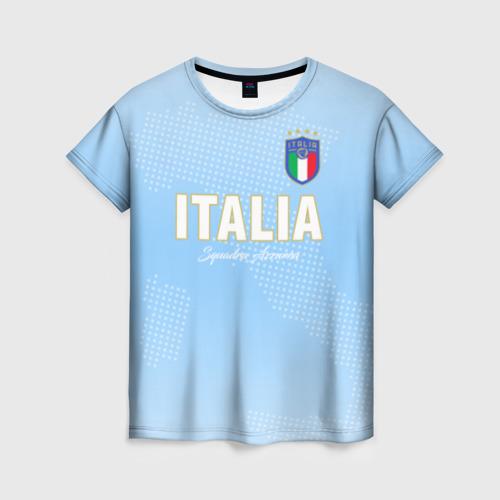 Женская футболка 3D Сборная Италии
