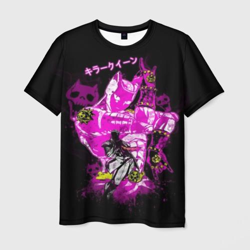 Мужская футболка 3D Приключения ДжоДжо