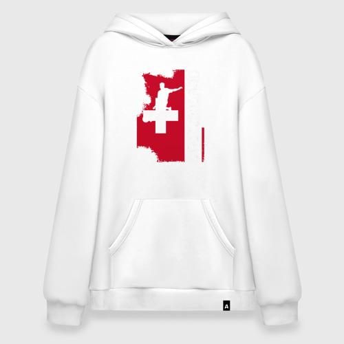 Худи SuperOversize хлопок Швейцария