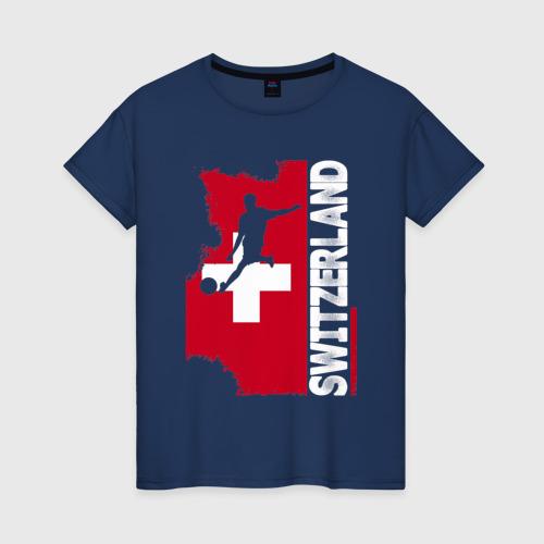Женская футболка хлопок Швейцария