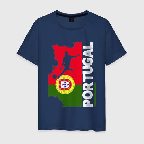 Мужская футболка хлопок Португалия