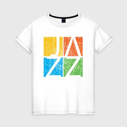 Женская футболка хлопок Jazz