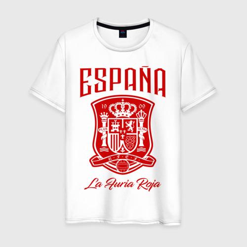 Мужская футболка хлопок Сборная Испани