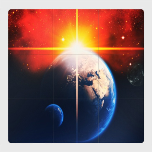 Магнитный плакат 3Х3 Космос
