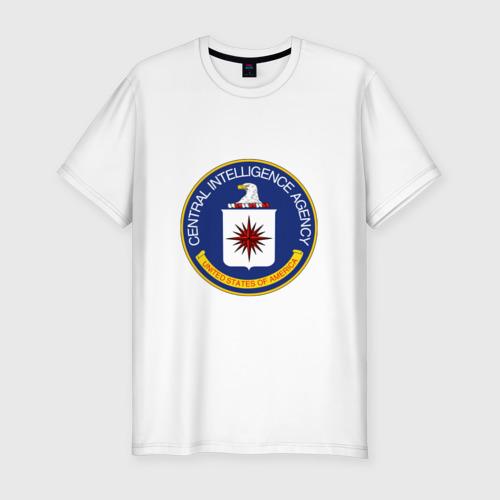 Мужская футболка хлопок Slim CIA