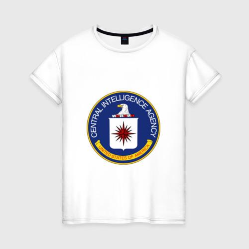 Женская футболка хлопок CIA