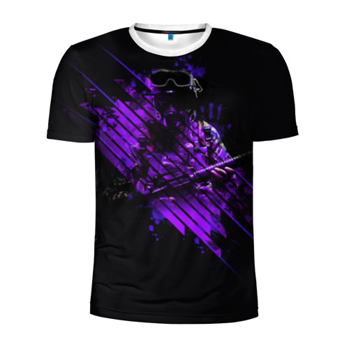 Мужская футболка 3D спортивная pro100