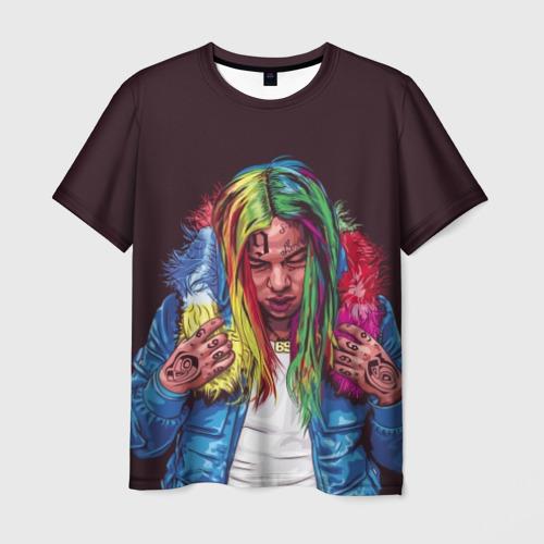 Мужская футболка 3D Color