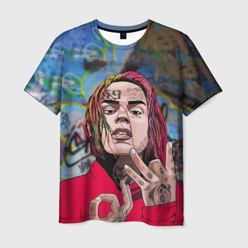 Мужская футболка 3D 69