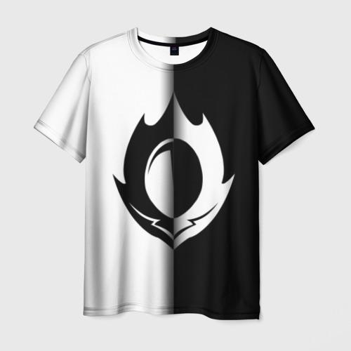 Мужская футболка 3D GODE GEASS symbol