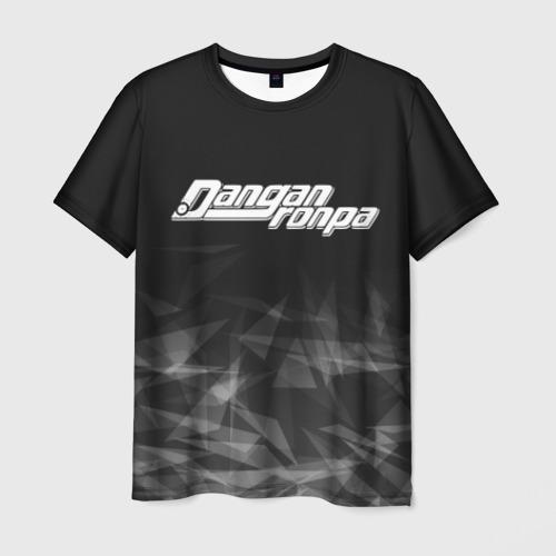 Мужская футболка 3D DANGANRONPA дым
