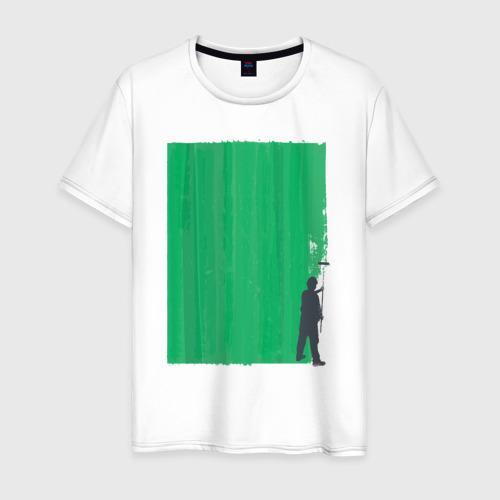 Мужская футболка хлопок Маляр