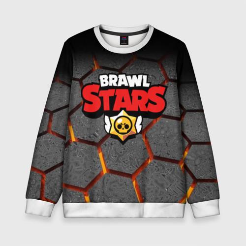 Детский свитшот 3D Brawl Stars Hex