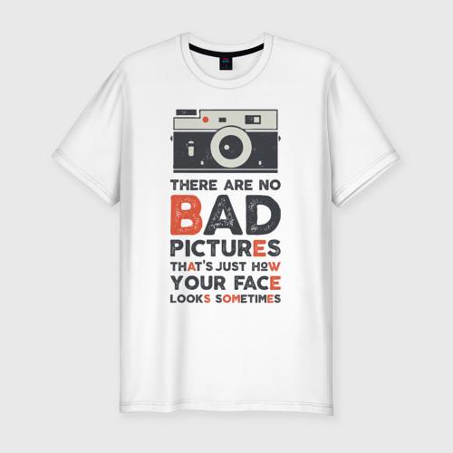 Мужская футболка хлопок Slim Фотограф
