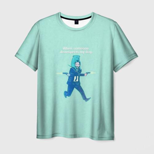 Мужская футболка 3D Джон Уик