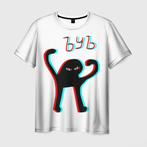 Мужская футболка 3D ЪУЪ GLITCH.