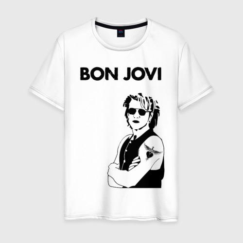 Мужская футболка хлопок Bon Jovi