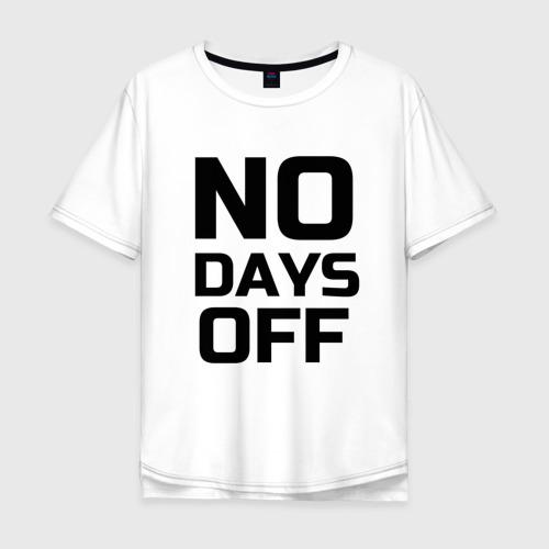 Мужская футболка хлопок Oversize Не сдавайся...
