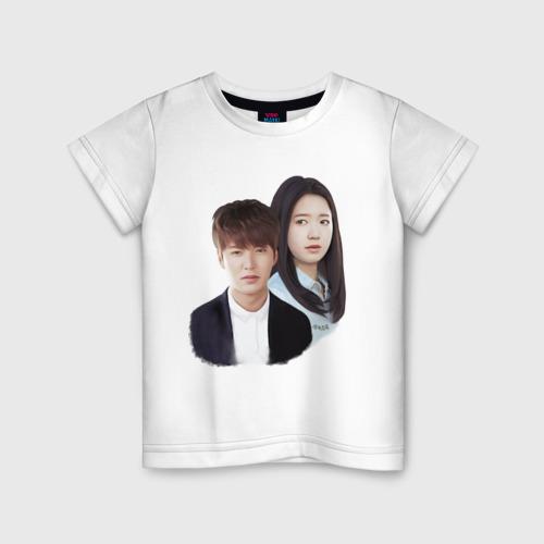 Детская футболка хлопок Kim Tan and Cha Eun Sang