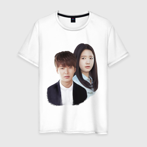 Мужская футболка хлопок Kim Tan and Cha Eun Sang