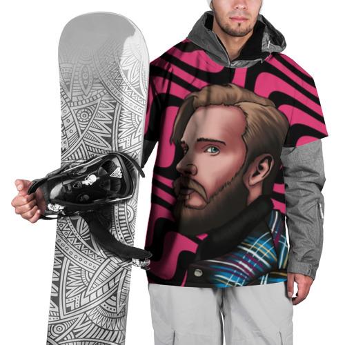 Накидка на куртку 3D Pink PewDiePie