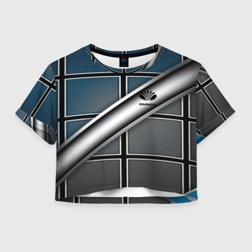 Женская футболка Crop-top 3D Daewoo