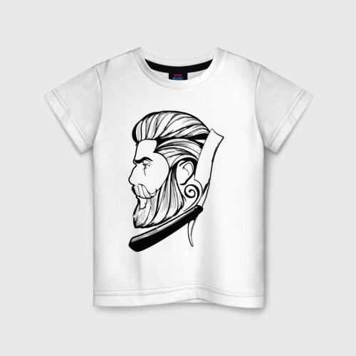 Детская футболка хлопок Барбер