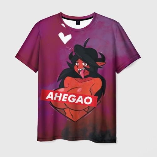 Мужская футболка 3D Demon Ahegao