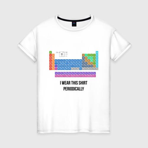 Женская футболка хлопок ношу эту футболку периодически