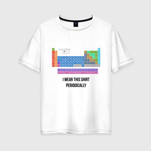 Женская футболка хлопок Oversize ношу эту футболку периодически