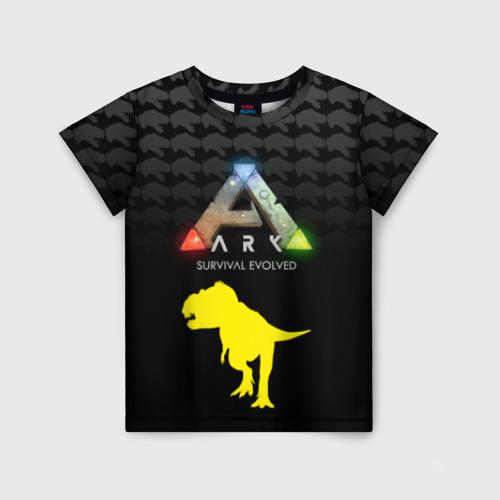 Детская футболка 3D Ark Survival Evolved