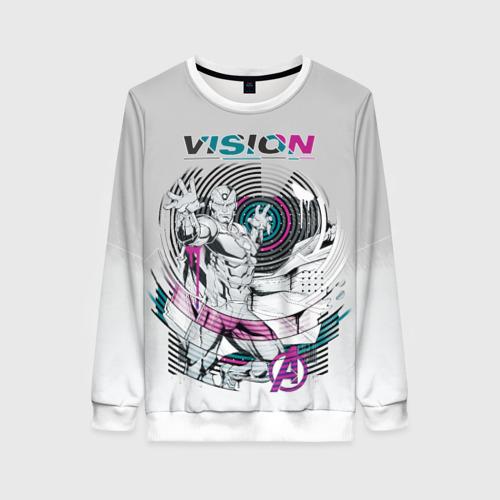 Женский свитшот 3D Vision