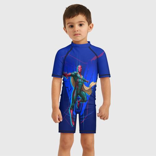 Детский купальный костюм 3D Vision