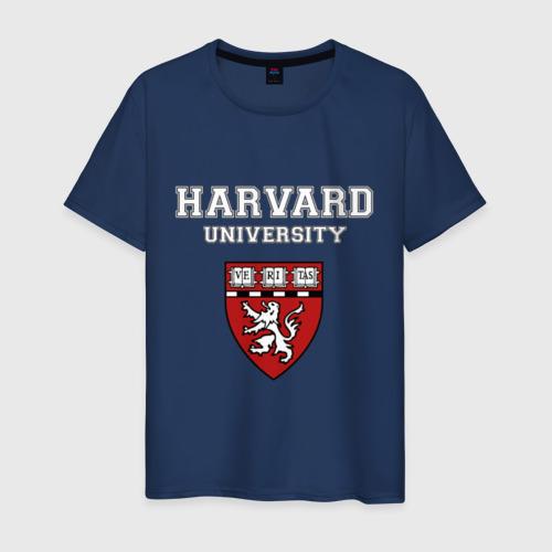 Мужская футболка хлопок Harvard University_форма
