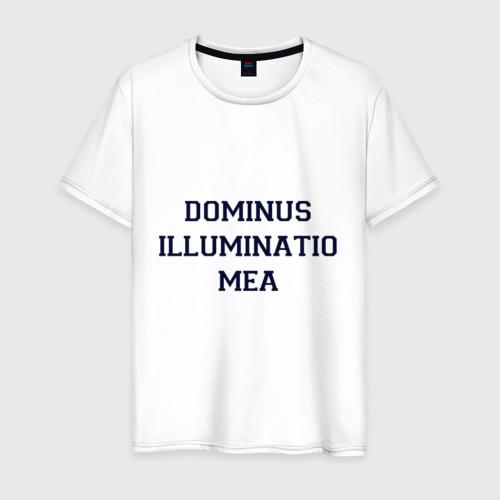 Мужская футболка хлопок University of Oxford_девиз