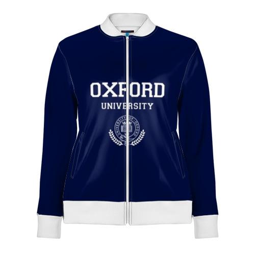 Женская олимпийка 3D University of Oxford_форма