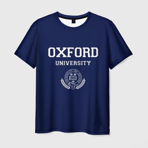 Мужская футболка 3D University of Oxford_форма