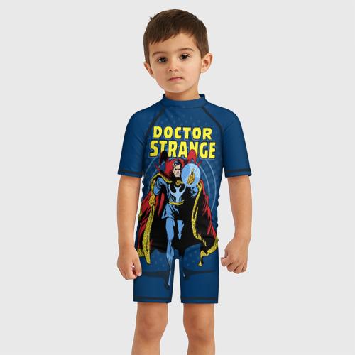 Детский купальный костюм 3D Doctor Strange
