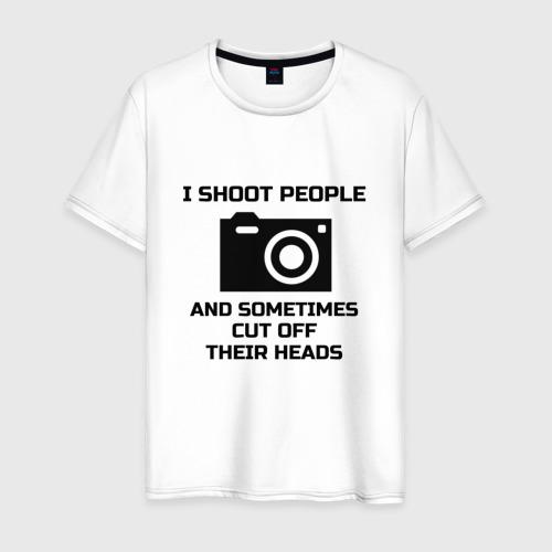 Мужская футболка хлопок Добрый фотограф