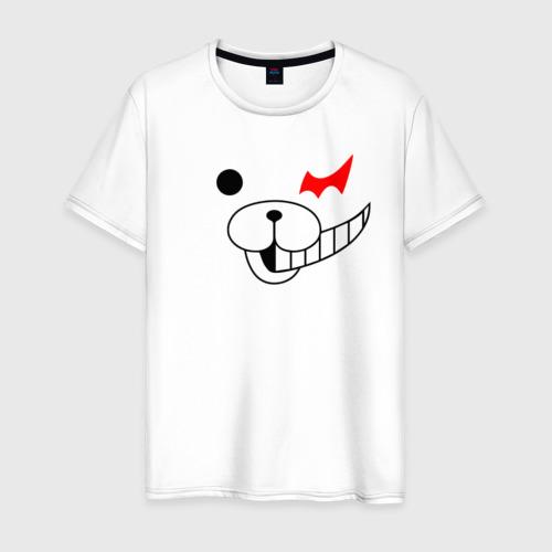 Мужская футболка хлопок Monokuma части лица