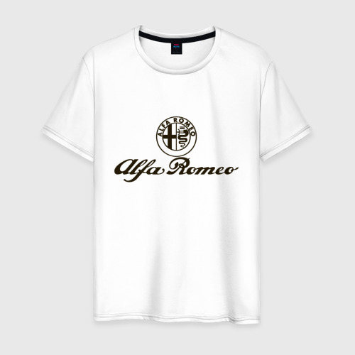 Мужская футболка хлопок alfa romeo formula1