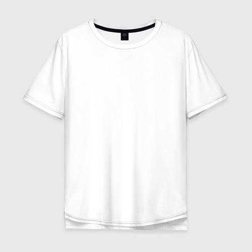 Мужская футболка хлопок Oversize True barber white