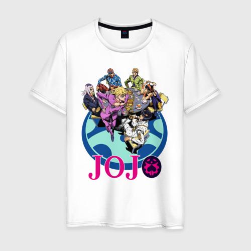 Мужская футболка хлопок Герои JoJo's Bizarre Adventure