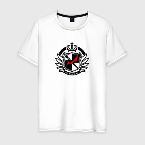 Мужская футболка хлопок MONOKUMA SCHOOL