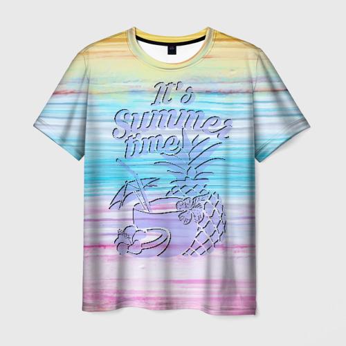 Мужская футболка 3D Summer Time